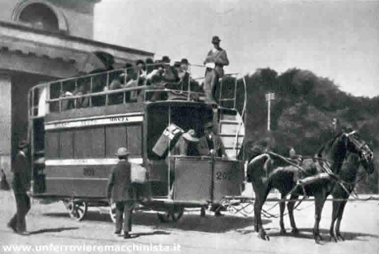 30 marzo 1876 a trieste inaugurato il primo trasporto - Autobus prima porta ...