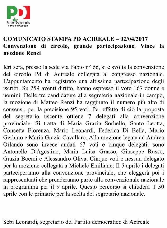 comunicato-pd-delirio-primarie-dei-delegati